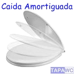 Asiento THE GAP SIMIL amortiguado duroplast tapawc