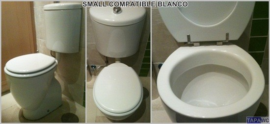 Asiento inodoro SMALL tapawc compatible Ideal Standard