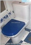 Asiento inodoro GIRALDA tapawc compatible Roca