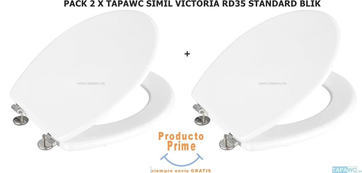 2 X Asiento SIMIL VICTORIA DML RD35 BALI tapawc standard