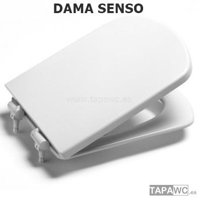 Asiento inodoro DAMA SENSO original tapawc Roca
