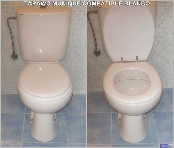 Asiento inodoro MUNIQUE tapawc compatible Sanitana