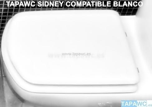 Asiento inodoro SIDNEY tapawc compatible Roca