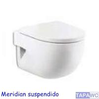 Asiento inodoro MERIDIAN-N COMPACTO original tapawc Roca