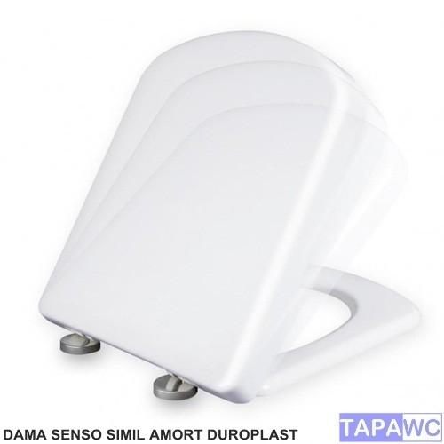 Asiento DAMA SENSO SIMIL amortiguado duroplast tapawc