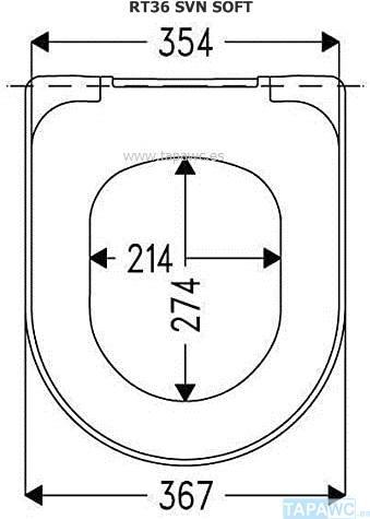 Asiento SIMIL MERIDIAN CD rt36 amortiguado duroplast tapawc