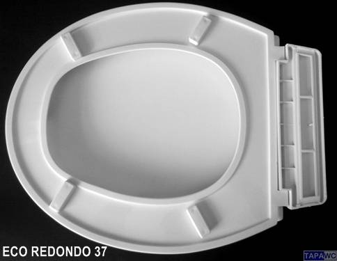 Asiento inodoro  REDONDO ECO 37 PP RD37 tapawc standard