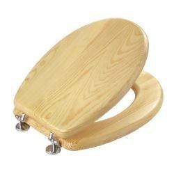 Tapa inodoro standard pino tapawc madera for Tapa inodoro madera