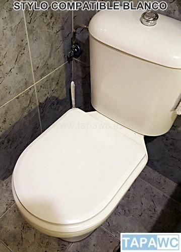 Wondrous Asiento Inodoro Stylo Tapawc Compatible Bellavista Evergreenethics Interior Chair Design Evergreenethicsorg