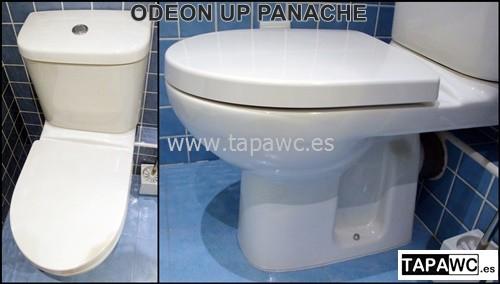 Asiento inodoro ODEON UP 15.50 PANACHE original tapawc Jacob Delafon