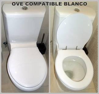 Asiento inodoro OVE tapawc compatible Jacob Delafon
