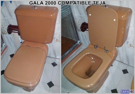 Asiento inodoro GALA 2000 tapawc compatible Gala