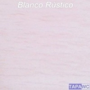 Tapa inodoro compatible BLANCO RUSTICO tapawc madera
