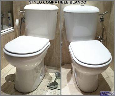 Asiento inodoro stylo tapawc compatible bellavista - Sanitarios bellavista precios ...