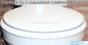 Asiento inodoro EL.1 tapawc compatible GALASSIA