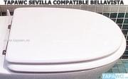 Asiento inodoro SEVILLA Bellavista tapawc compatible