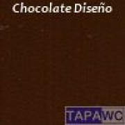 Tapa inodoro compatible MARRON CHOCOLATE tapawc