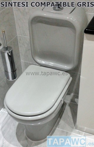 Asiento inodoro SINTESI tapawc compatible Cesame