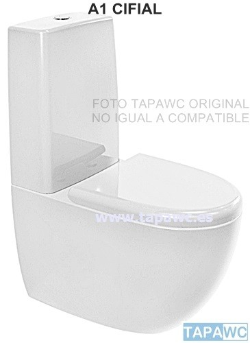 Asiento inodoro A1 tapawc compatible Cifial