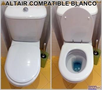 Asiento inodoro altair tapawc compatible jacob delafon - Inodoros jacob delafon ...