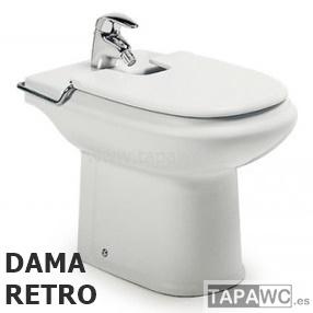 Tapa bide dama retro roca - Tapa wc roca dama ...