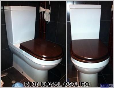 Tapa inodoro recto rt36 dmf tapawc standard for Tapa inodoro madera