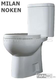 Asiento inodoro MILAN tapawc compatible Noken
