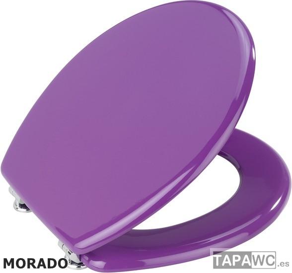Asiento LISO MORADO ECO DM tapawc standard