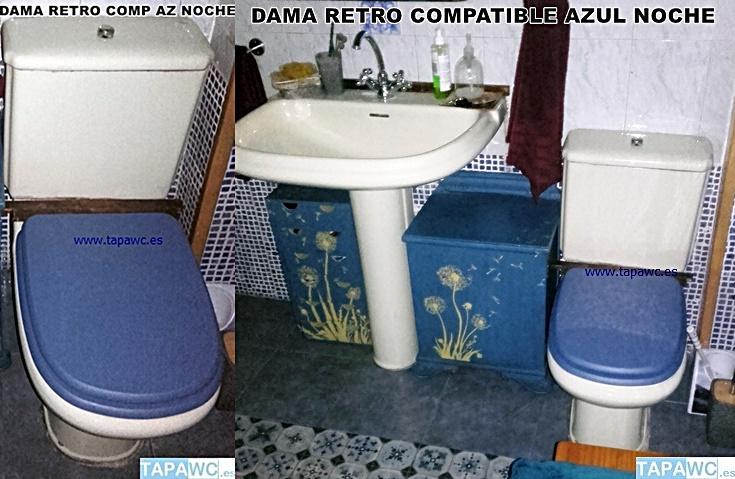 Tapa Wc DAMA RETRO tapawc compatible Roca