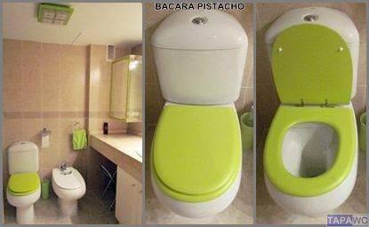 Tapa inodoro compatible verde pistacho tapawc for Inodoro verde