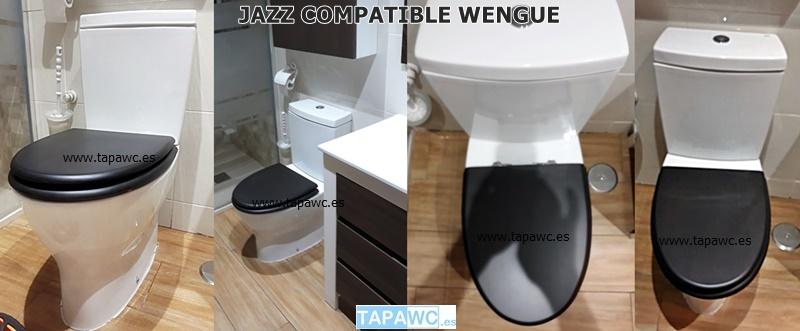 Asiento inodoro JAZZ compatible tapawc Gala