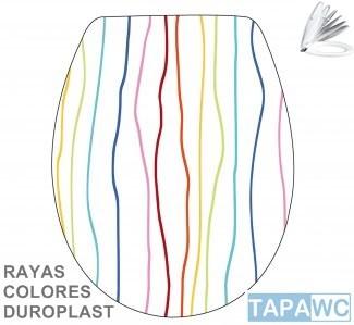 Asiento RAYAS AMORTIGUADO tapawc decora
