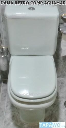Tapa asiento de inodoro Dama de Roca