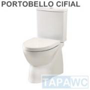 Asiento inodoro PORTOBELLO tapawc compatible Cifial
