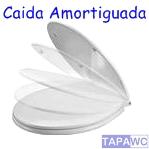 Asiento inodoro CIVIC original amortiguado tapawc Roca