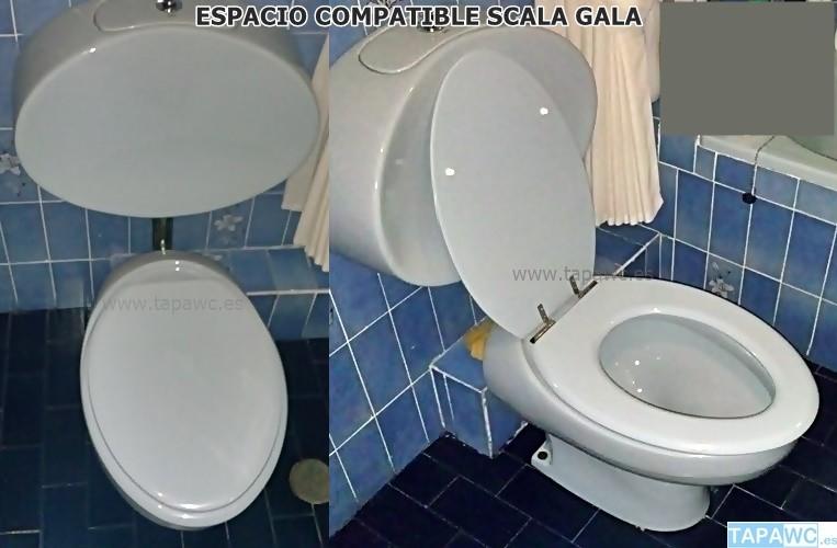 Asiento inodoro ESPACIO tapawc compatible Gala