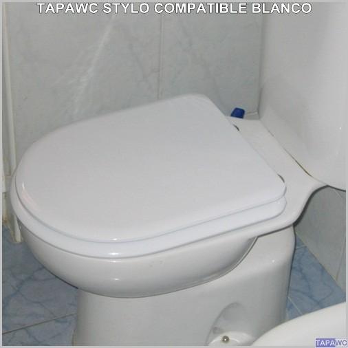 Asiento inodoro stylo tapawc compatible bellavista for Tapas wc bellavista