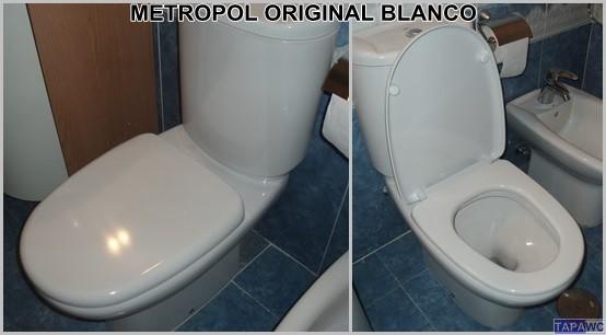 Asiento inodoro METROPOL original tapawc Gala
