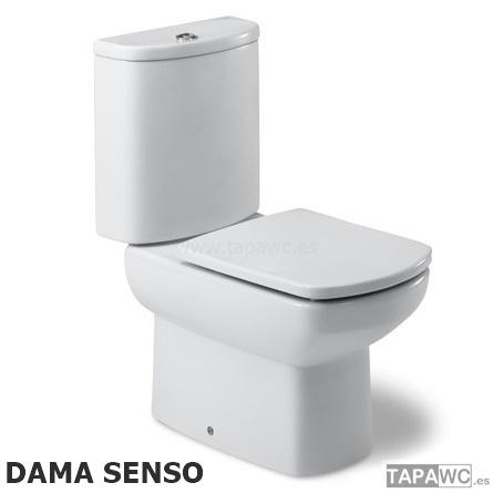 Asiento inodoro dama senso original tapawc roca for Inodoro roca dama senso