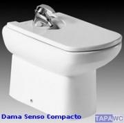 Tapa bide DAMA SENSO COMPACTO Roca