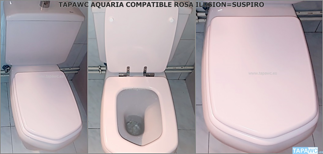 Tapa Wc AQUARIA tapawc compatible Roca