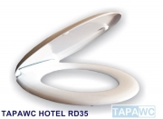 Asiento inodoro HOTEL DUROPLAST RD36 tapawc standard