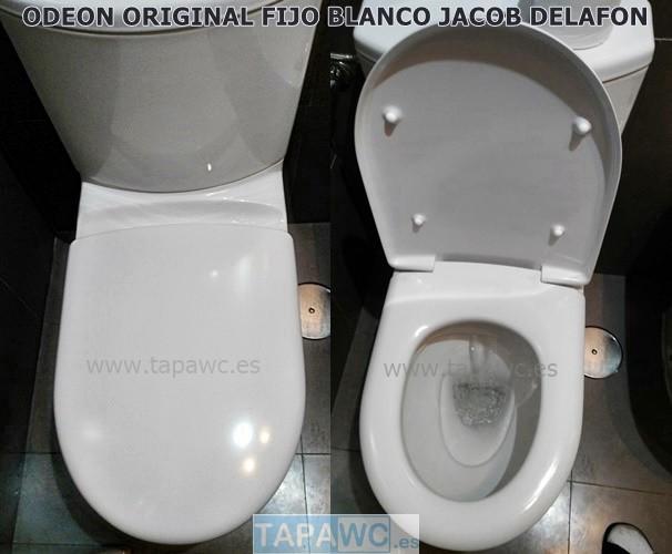 Asiento inodoro ODEON original tapawc Jacob Delafon