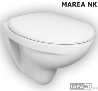 Asiento inodoro MAREA tapawc compatible Noken