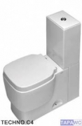 Asiento inodoro TECHNO C4 amortiguado tapawc compatible Cifial
