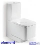 Asiento inodoro ELEMENT original tapawc Roca