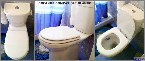 Asiento inodoro OCEANUS tapawc compatible Valadares