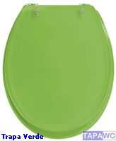 Tapa inodoro standard colors verde tapawc for Inodoro verde
