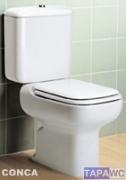 Asiento inodoro CONCA tapawc compatible Ideal Standard